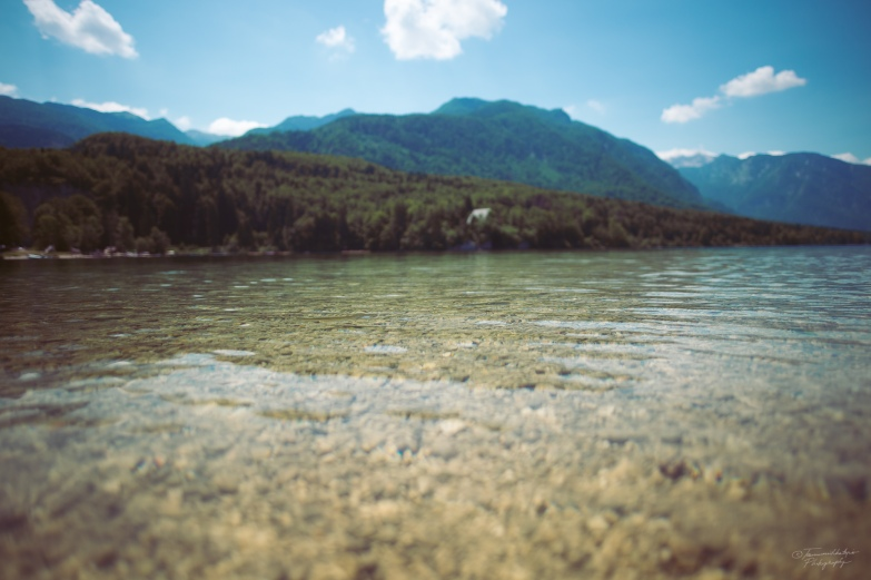 Lake Bohinj was a real pearl – way less crowded than Lake Bled.